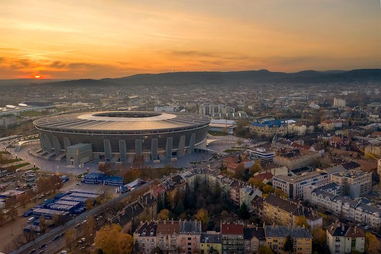 Puskás Aréna a Budapest
