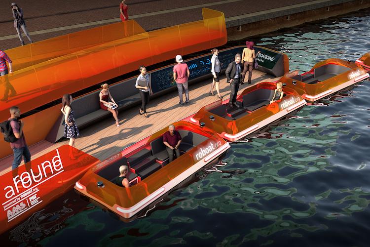 Roboat, barche elettriche a guida autonoma