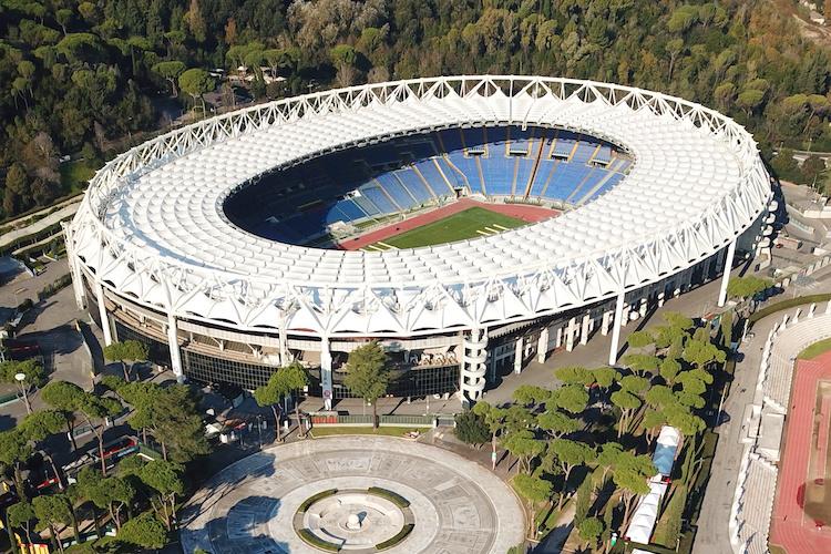 Lo Stadio Olimpico a Roma